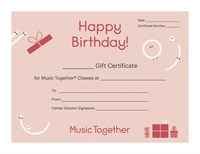Gift Certificate: $20.00